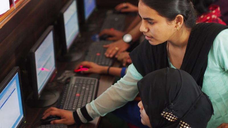 IT Skills Training for Dalit Girls