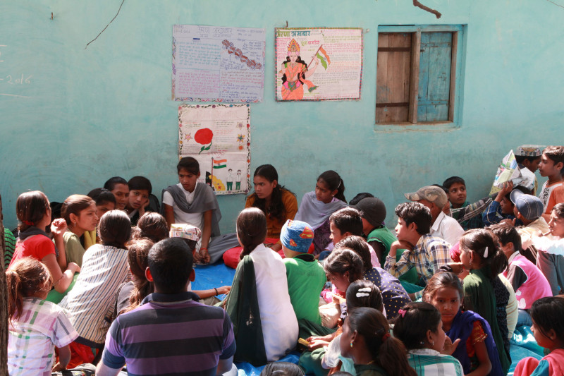 Supporting Children of Manual Scavengers and Bonded Labourers to Stay in School
