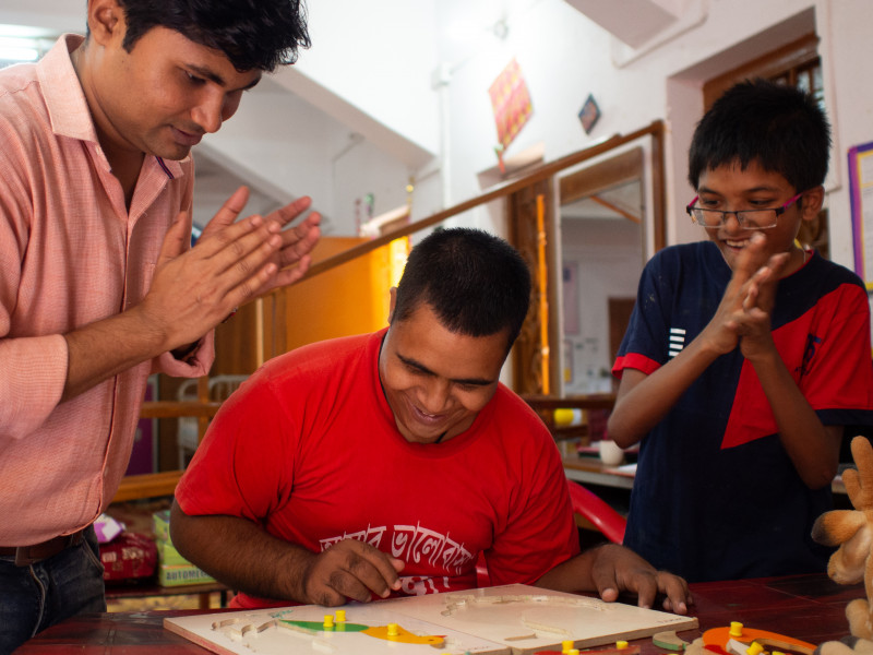Services for Disabled Children in West Bengal